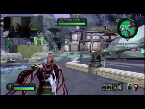 Star Trek Online: Xbox One Ep46 & 47 ( New Romulus, Staging Area, Warehouse)