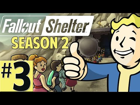 Fallout Shelter Lets Play Episode 3 [Synth Butch] (Season 2 IOS Gameplay)