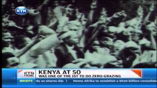Kenya at 50 - Meet George Ndirangu a farmer who learnt dairy farming from Britons