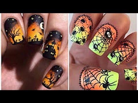 Top Nail Art 25 Halloween Designs Compilation 2016