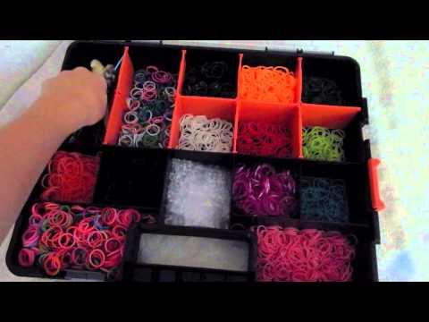 Rainbow Loom Storage   RainbowLoom Lover