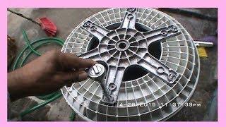 lavadora SAMSUNG como desarmar  para quitar completo la suciedad y sarro (Video # 2)