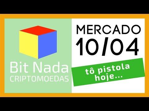 Mercado de Cripto! 10/04 tô pistola hoje / BTC / TRX / Mempool