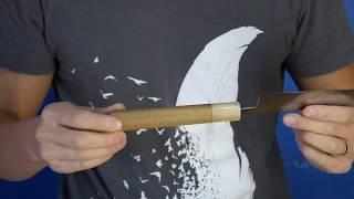 How To Season Knife Handle Waterproof Tight