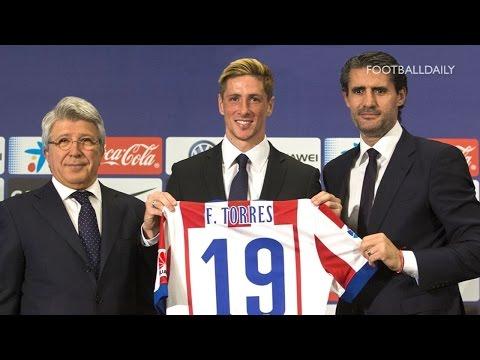 Atlético Madrid unveil new signing Fernando Torres