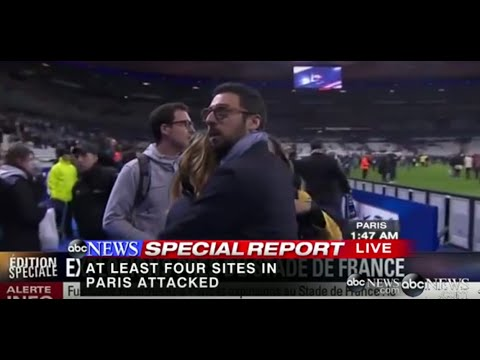 Paris Attacks: Terrifying Scenes From French Stadium