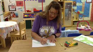 CADC Harmony Grove Head Start/ABC - Ms. Tasha - Draw A Dinosaur