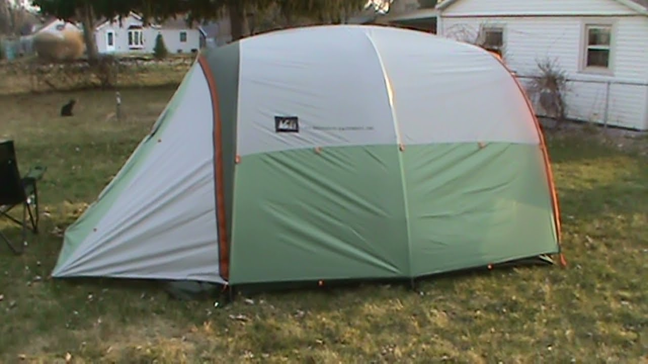 & REI Kingdom 4 Tent - YouTube