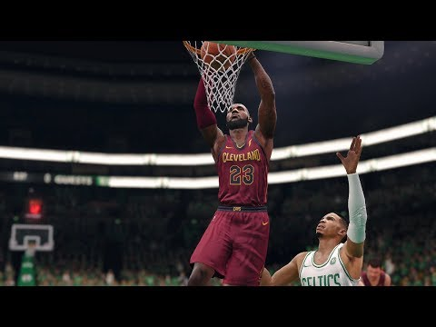 NBA LIVE 2018 Playoffs Cleveland Cavaliers vs Boston Celtics Full Game 2 NBA Finals NBA LIVE 18