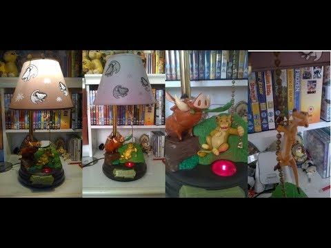 Lion King Hakuna Matata Singing Lamp