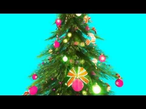 Green Screen Around the Christmas Tree - Footage PixelBoom ...