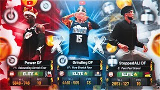 RUNNING 3 CENTERS PT.6 ON $25,000 COURT AT STAGE! 2 LOCKDOWNS VS BEST BUILDS IN NBA 2K19