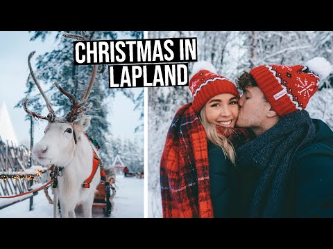Our Dream White Christmas in Rovaniemi, Finnish Lapland | Sa