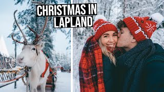 Our Dream White Christmas in Rovaniemi, Finnish Lapland | Santa Claus Village