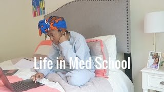 A Week in the Life of a 1st Year Medical Student Exam Studying