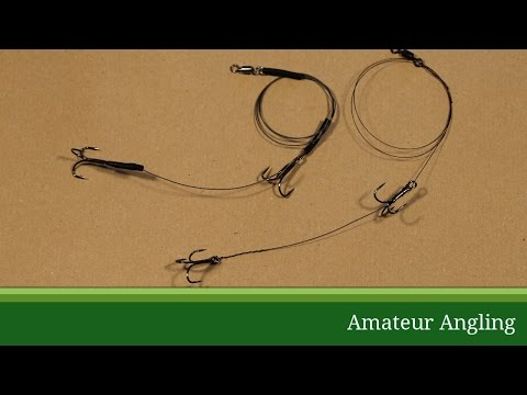 How To Tie A Wire Trace For Pike Fishing