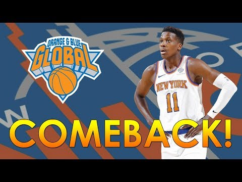 The Knicks' Comeback, 4th Quarter Slaughter against Charlotte - 11/7/17
