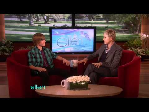 Justin Bieber's First Interview with Ellen!