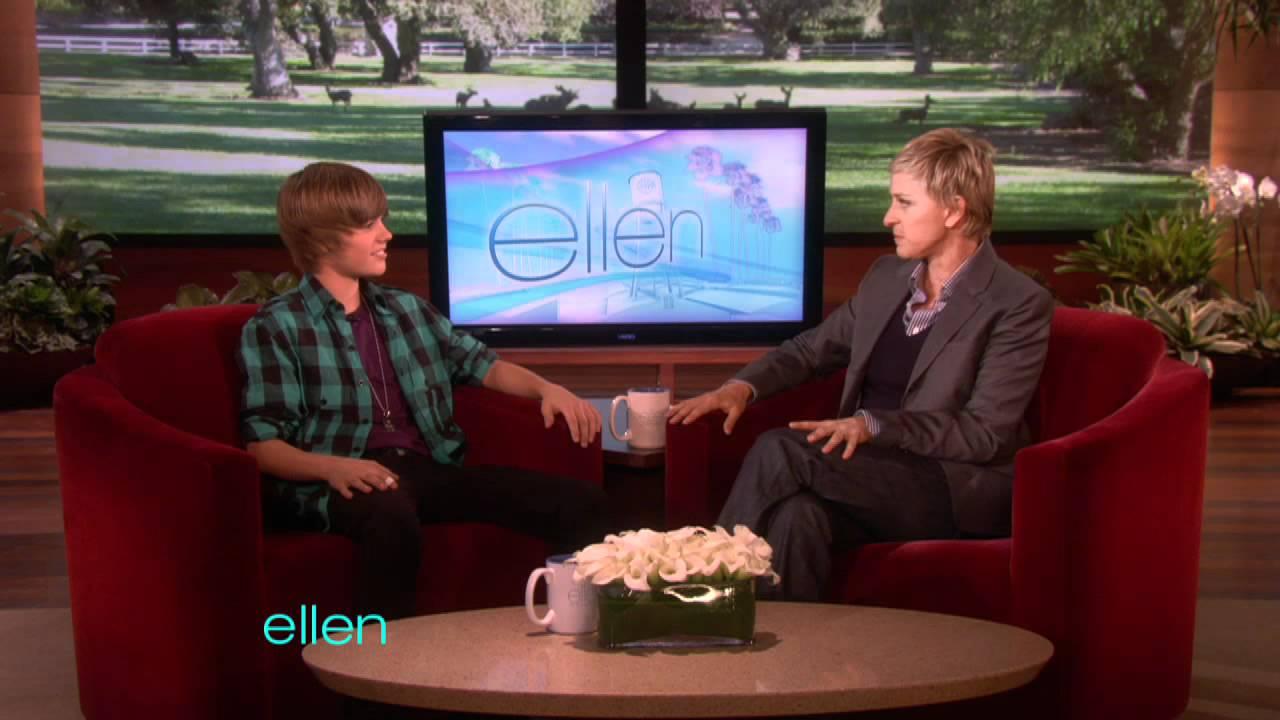 Justin Bieber's First Interview with Ellen!