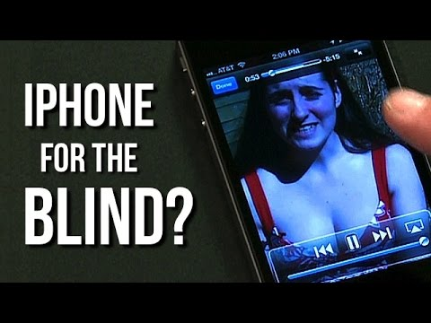 How Blind People Use YouTube & Twitter on the iPhone