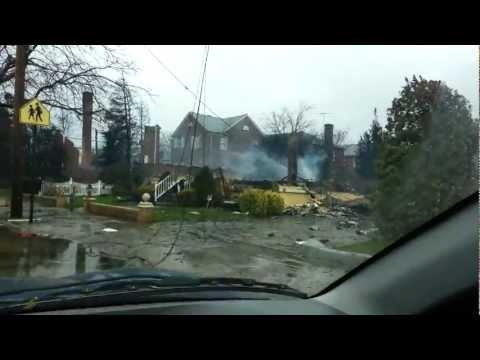 Hurricane Sandy - Rockaway Park Beach 130th St.