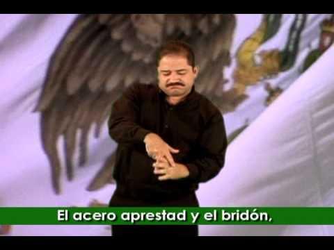 Himno Nacional Mexicano LSM Completo OFICIAL Ante La Secretaría De Gobernación
