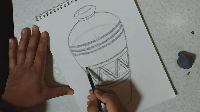 رسم جرة الفخار بسهولة Youtube