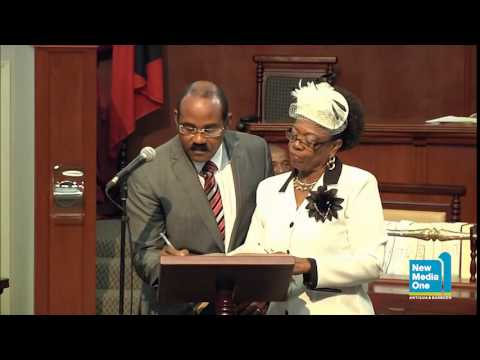 1st Meeting of the Lower House Antigua & Barbuda