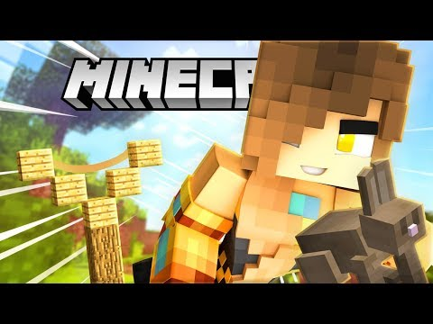 RABBITS CAN FLY IN MINECRAFT? ANGRY BIRDS MINECRAFT MINI-GAME!