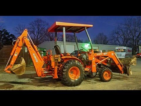Kubota B21 Tractor / Loader / Backhoe For Sale - NC (Runs Great &  Everything Works)