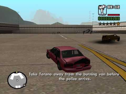 GTA San Andreas-Mission 49-The T-Bone Battery Signal Mission thingy!!