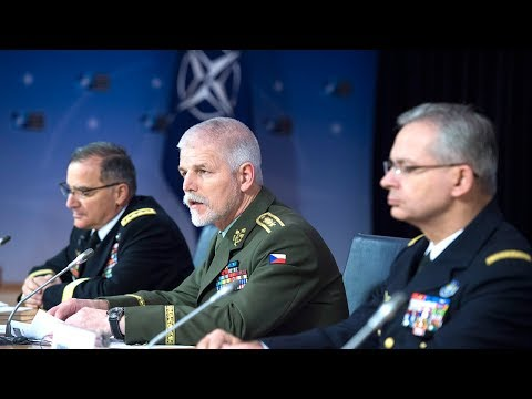 Opening remarks joint press conference - NATO Chiefs of Defence, 17 JAN 2018