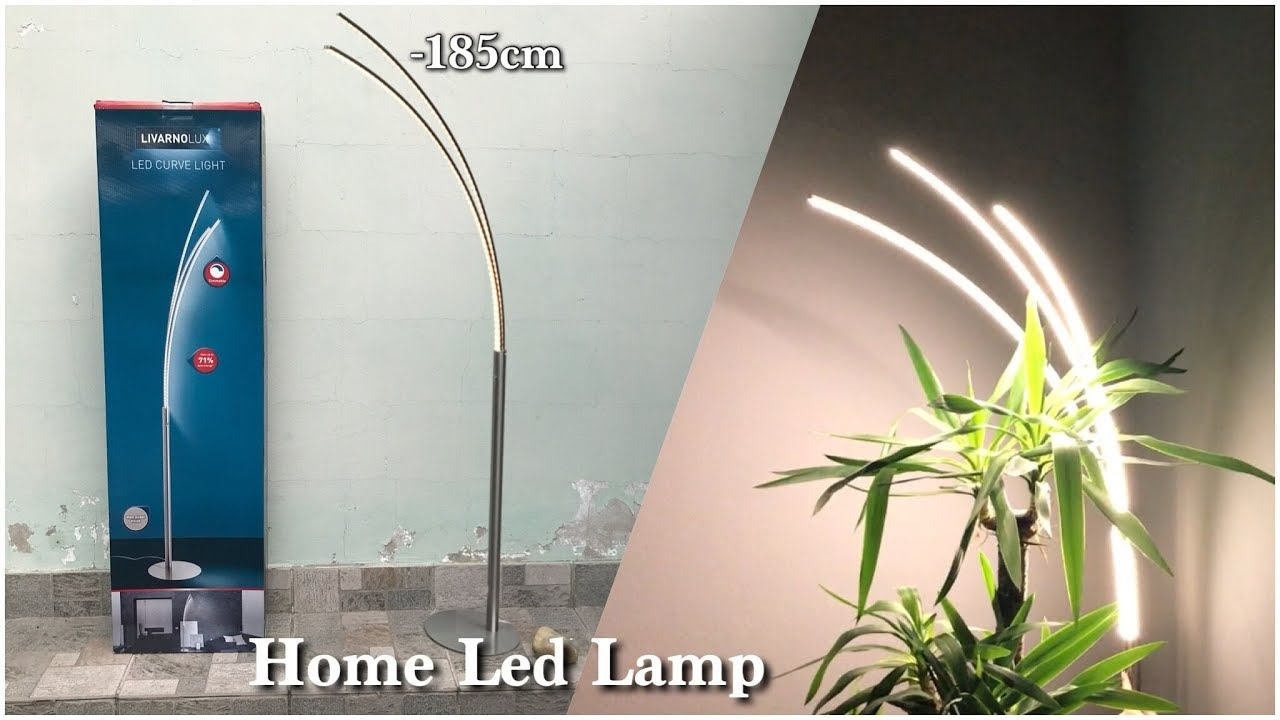 Home Led Curve Lamp Livarno Lux Youtube