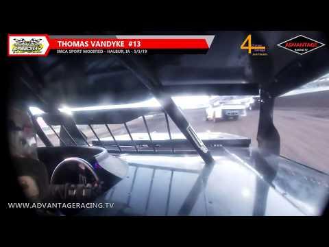 Thomas Vandyke #13 Ride Along - Crawford County Speedway - 5/3/19