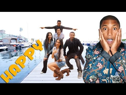 Pharrell Williams - Happy CANADA (Toronto) (Montréal, Vancouver, Calgary) #Freehappyiranian