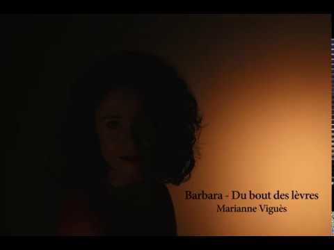 """Vidéo COVER """"Du bout des lèvres"""" de Barbara"""