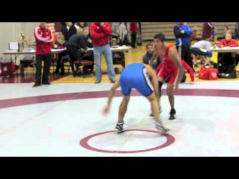 2012 McMaster Invitational: 54 kg Jonathan Babullal vs. Micheal Ladies