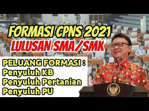 22++ Cpns 2021 lulusan sma apa saja cpns 2021