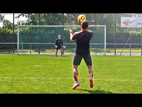 ULTIMATE FOOTBALL VOLLEY CHALLENGE w/ VOLLAND