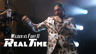 Fury's Sings for the Media | Wilder vs Fury II - Real Time: Episode 5