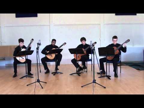 Morricone Carillon (Music Clock) (guitar quartet)