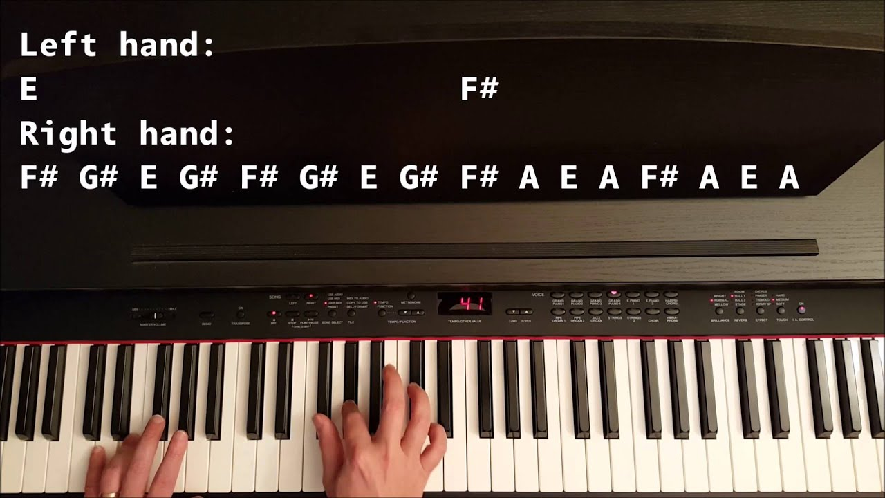 Easy Piano Songs That Sound Hard