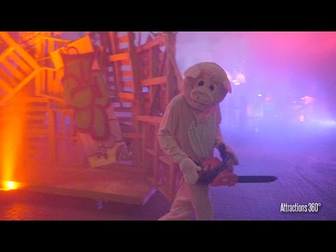 The Purge Scare Zone - Hollywood Halloween Horror Nights 2016