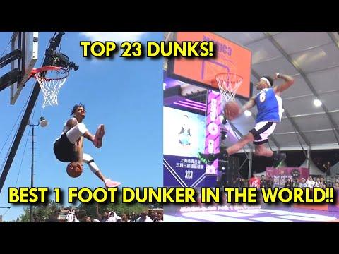 DUNKS BETTER THAN ZACH LAVINE! Jordan Southerland BEST 1 FOOT DUNKER in the WORLD! Top 23 DUNKS!