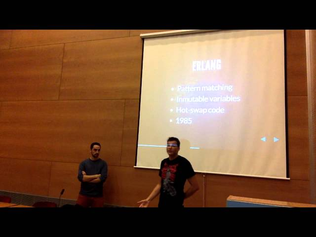 PHP Barcelona Monthly Talk: Looking beyond PHP