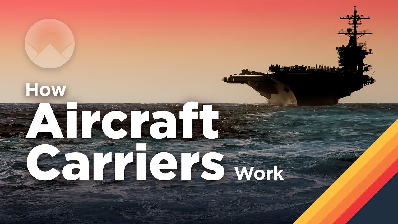 The Largest Aircraft Carrier in The World (full video) Cities at Sea: How Aircraft Carriers Work