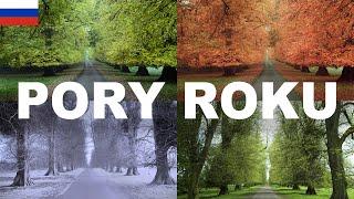Yрок польского языка - Времена года (Pory roku)