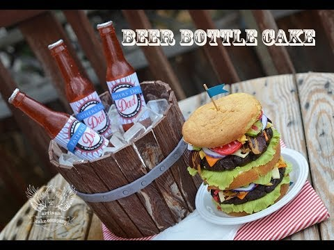 Beer Bottle Cake Tutorial