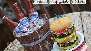 Beer Bottle Cake Tutorial