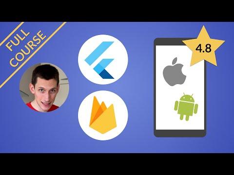 Flutter & Firebase Course Preview + Launch Sale